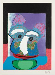 "Picture of APPEL KAREL ""PURPLE OWL"""