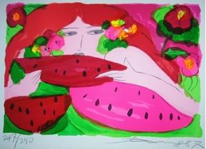 """Picture of TING WALASSE """"WOMAN 4"""""""