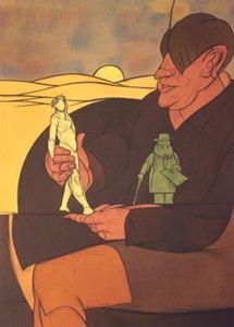 """Picture of ADAMI VALERIO (1935 - ) -  """"STATUETTE"""""""
