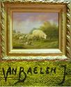 Picture of VAN BAELEN JEAN - LANDSCAPE WITH SHEEP