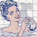 "Picture of LICHTENSTEIN ROY BY - ""WOMAN IN BATH"" 1963"